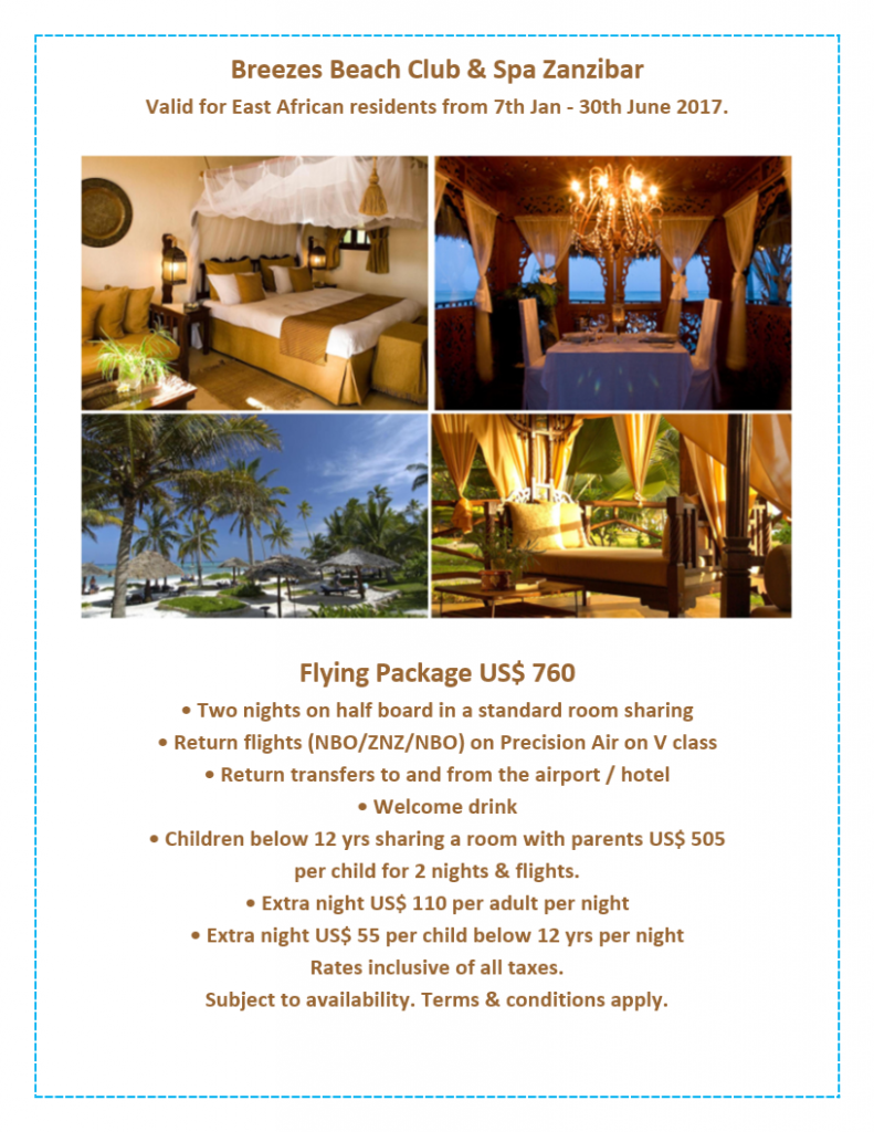 BREEZES Flying Package Jan to June 2017